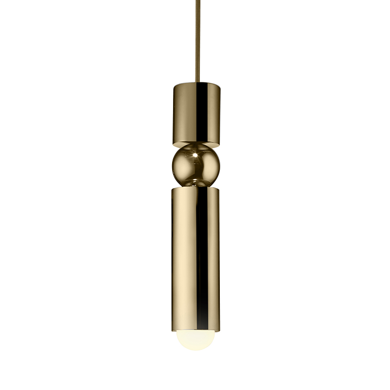 FULCRUM PENDANT LIGHT POLISHED GOLD 引掛