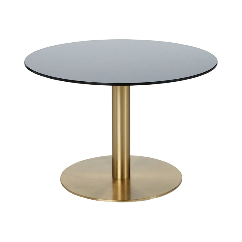 FLASH TABLE CIRCLE BRASS