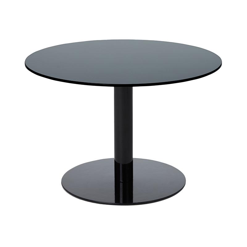 FLASH TABLE CIRCLE BLACK