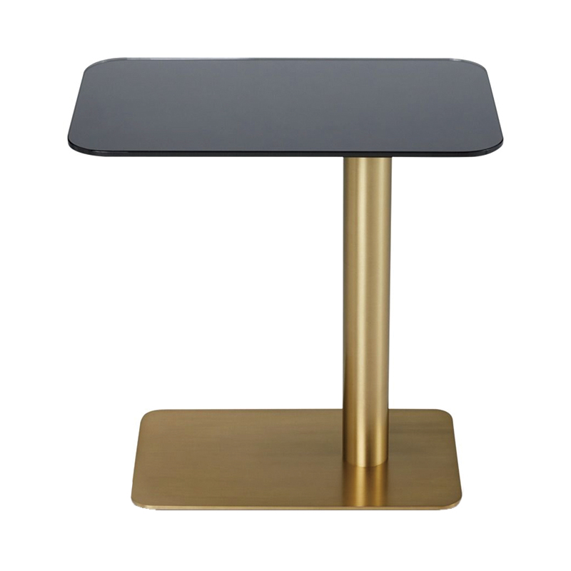 FLASH TABLE RECTANGLE BRASS