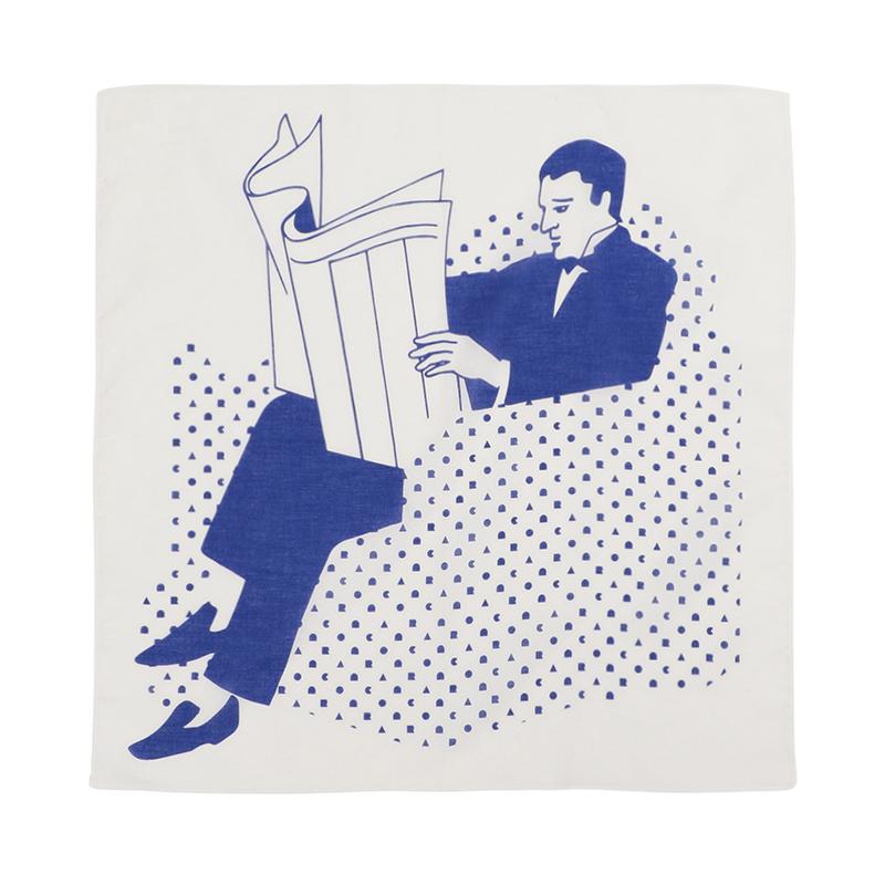 SITTING MAN HANDKERCHIEF