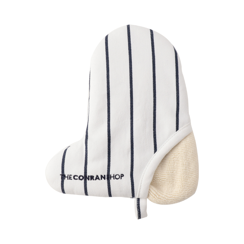 BUTCHER STRIPE MINI MITTEN WHITE