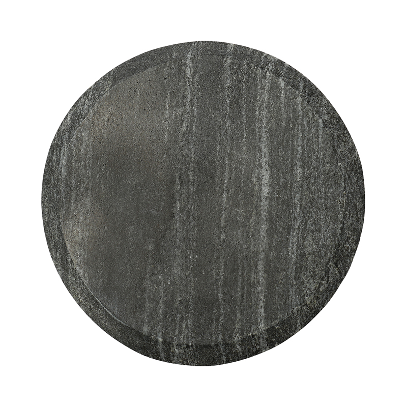 BLACK MARBLE ROUND COASTER