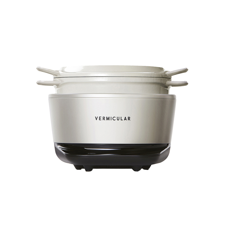 VERMICULAR RICEPOT MINI SEASALT WHITE
