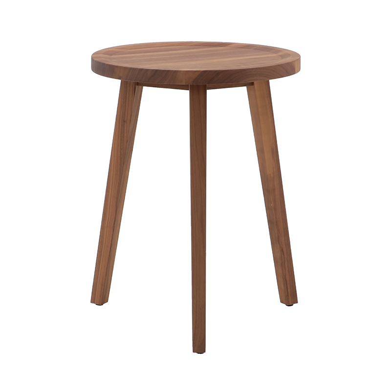 GRAY 44 SIDE TABLE WALNUT