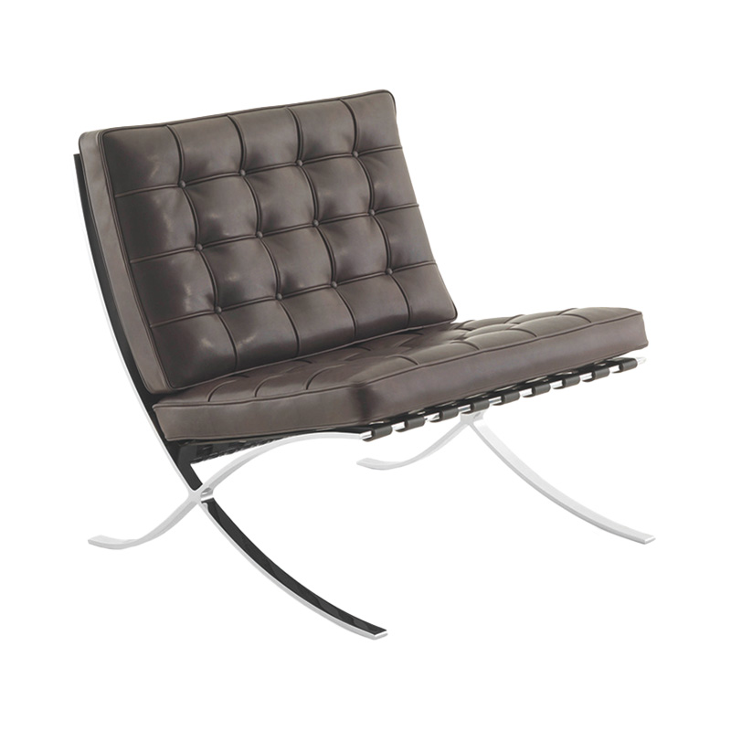 BARCELONA CHAIR RELAX VENEZIA.L DARK BROWN