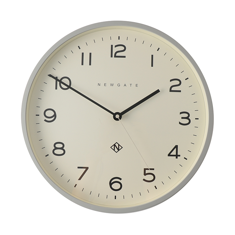 NEWGATE/NUMBER THEREE ECHO CLOCK GREY