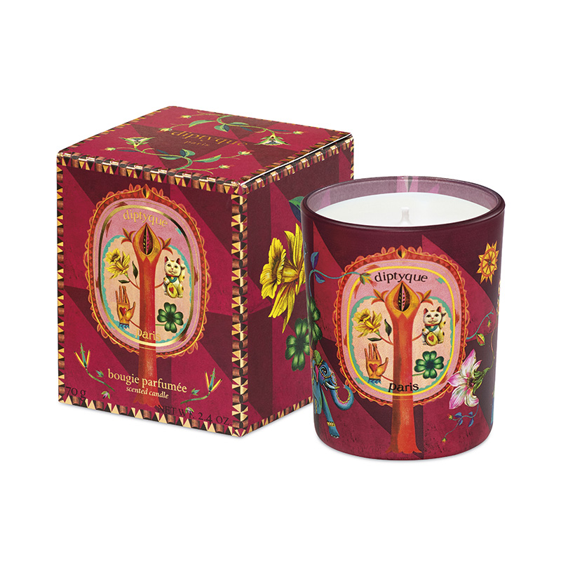 DIPTYQUE HOLIDAY COLLECTION CANDLE RED 70G