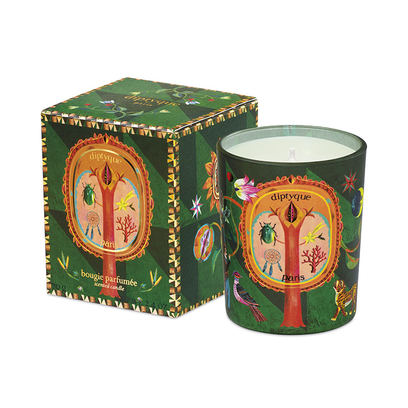 DIPTYQUE HOLIDAY COLLECTION CANDLE GREEN 70G