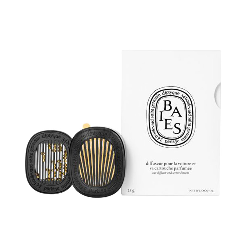 DIPTYQUE CAR DIFFUSER SET BAIES
