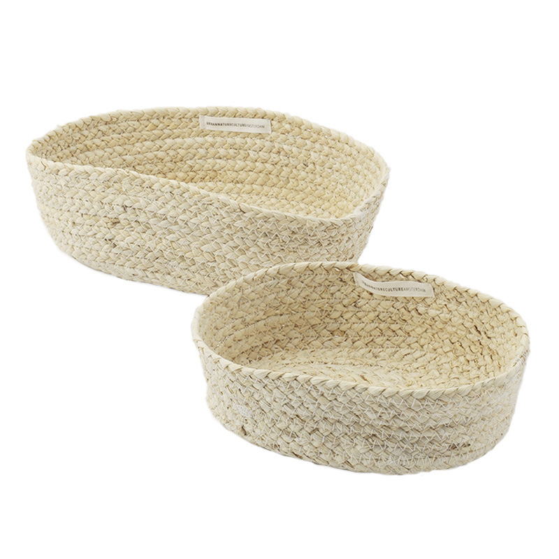 URBAN NATURE CULTURE BASKETS CORN SET OF 2