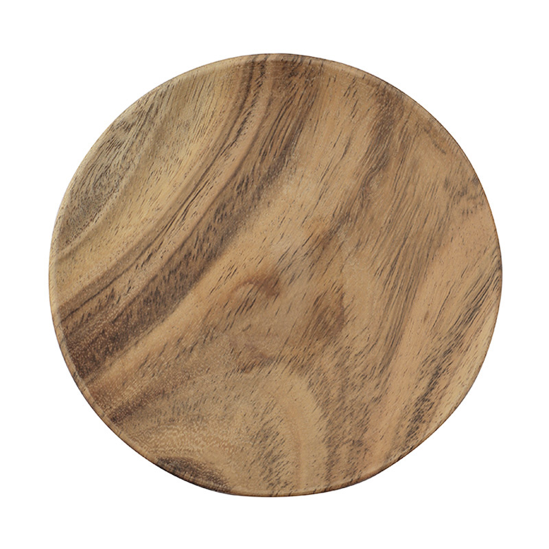 URBAN NATURE CULTURE PLATE ACACIA WOOD 13CM