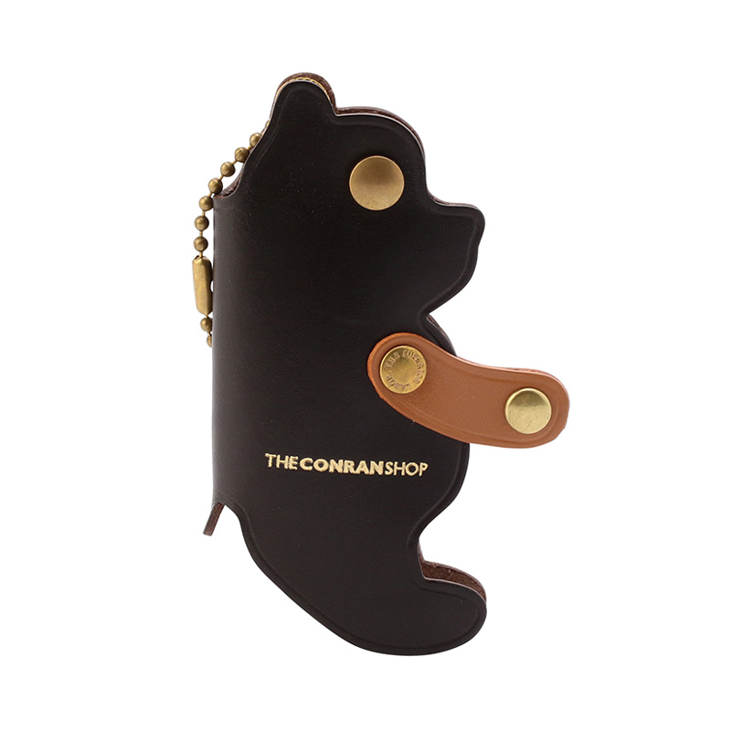 BEAR KEYCASE BROWN FOR CONRAN