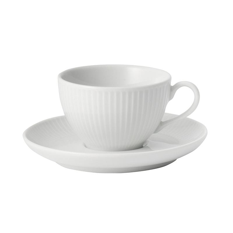 PLISSE TEA CUP&SAUCER 180ML