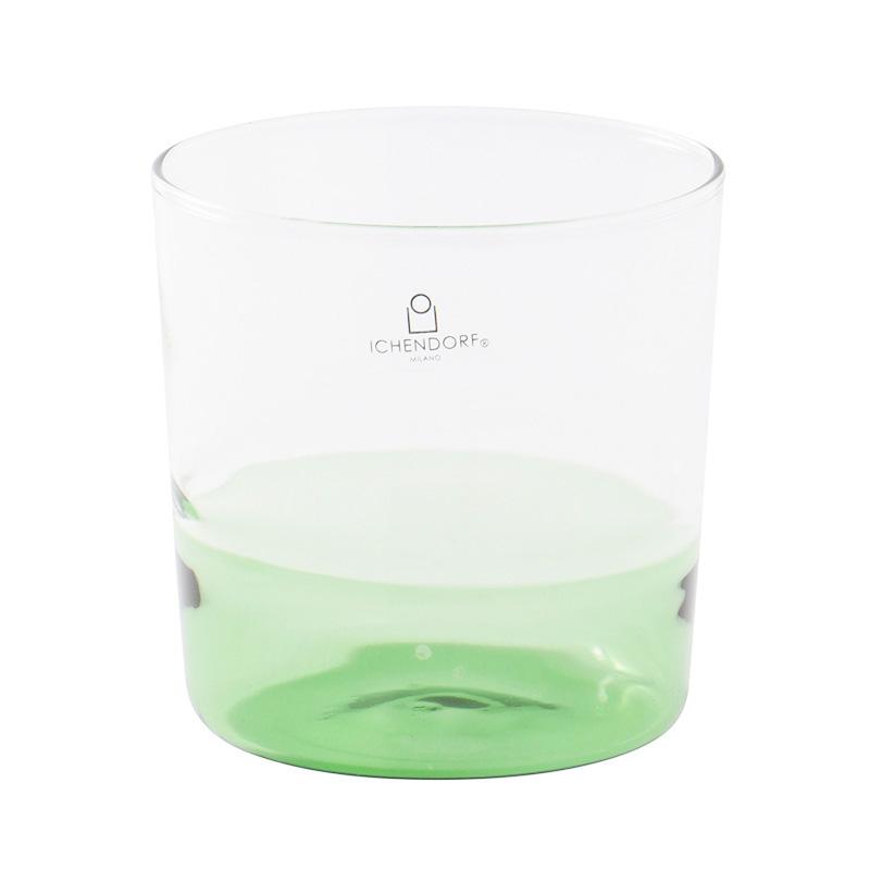 ICHENDORF LIGHT WATER GLASS GREEN/CLEAR