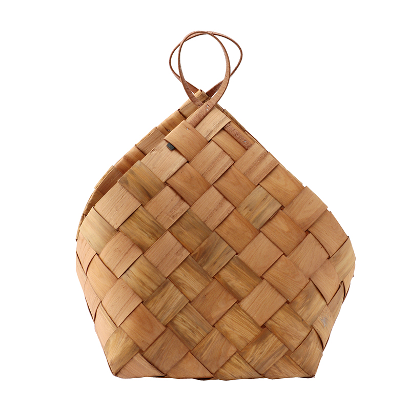HOUSE DOCTOR BASKET CONICAL BROWN LARGE