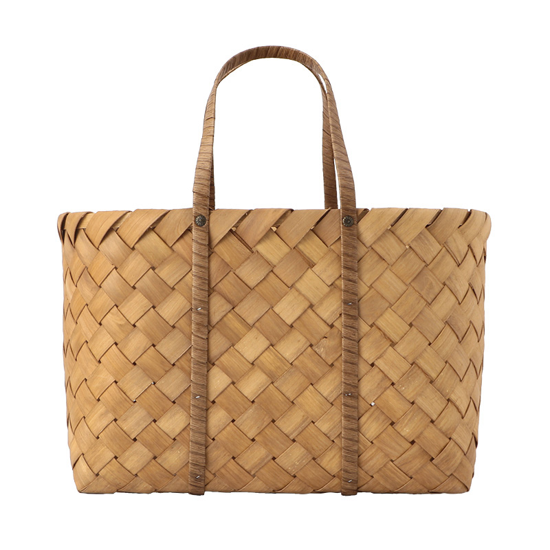 HOUSE DOCTOR BAG BEACH BROWN LARGE