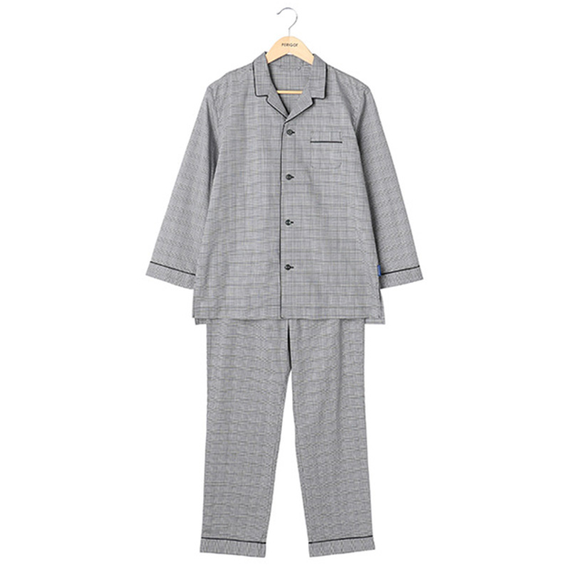 ORIGINAL PYJAMAS BLACK CHECK M