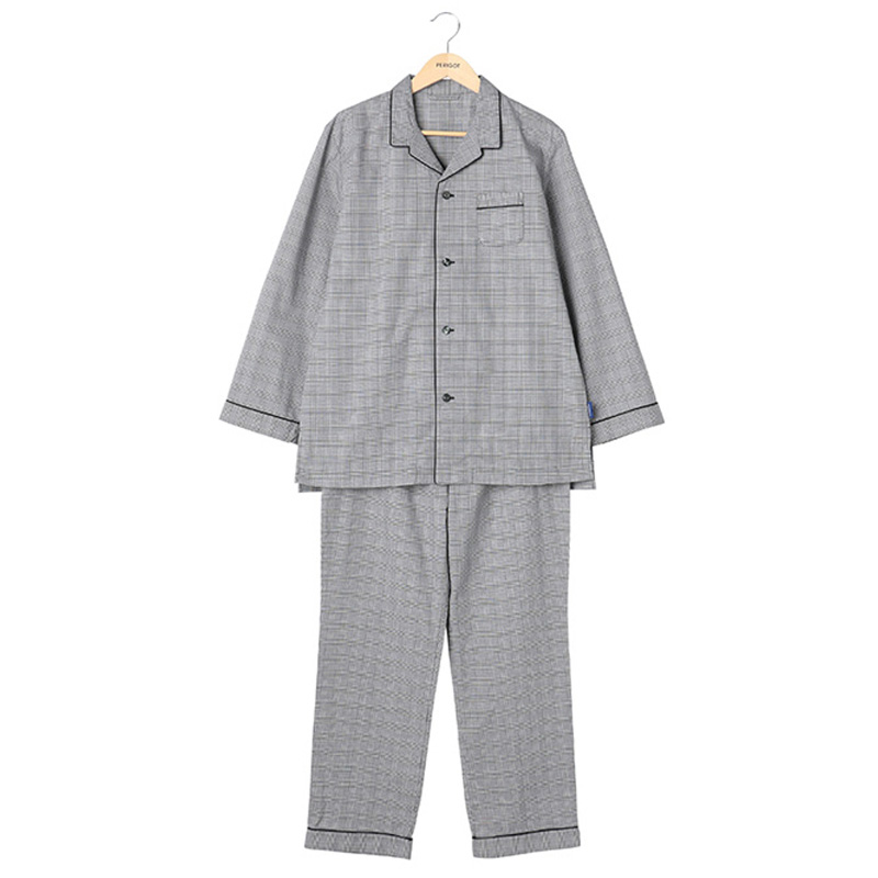 ORIGINAL PYJAMAS BLACK CHECK L