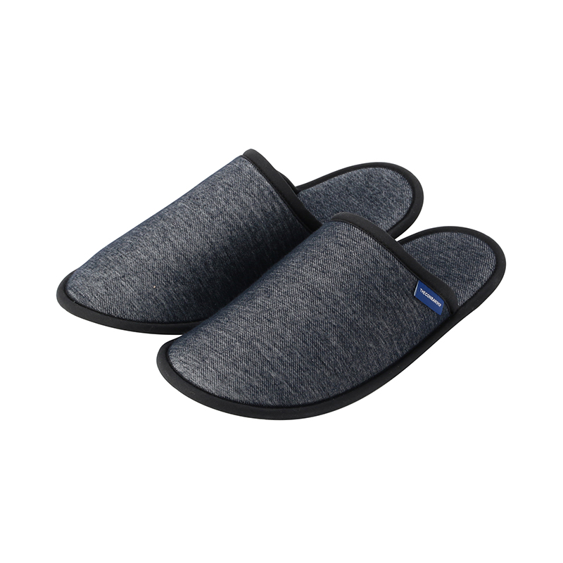 ORIGINAL DENIM KNIT SLIPPERS NAVY M