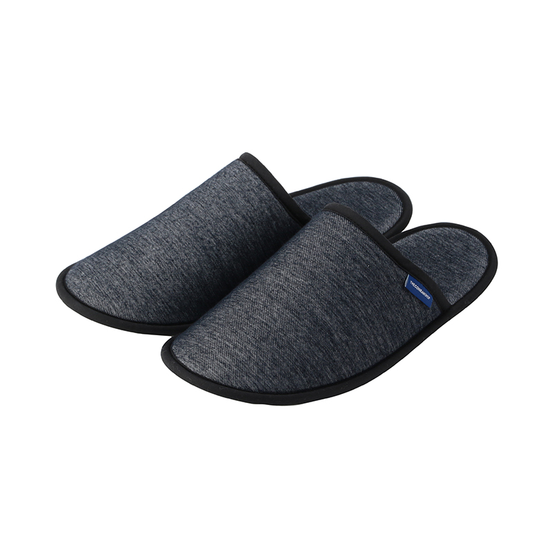 ORIGINAL DENIM KNIT SLIPPERS NAVY L