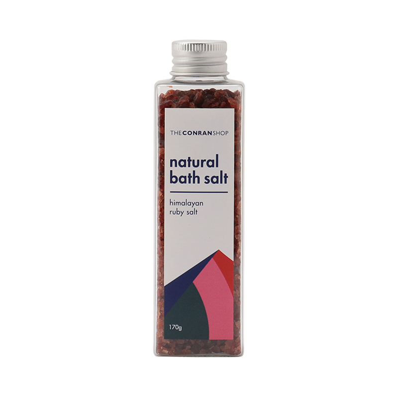 NATURAL BATH SALT 170G RUBY