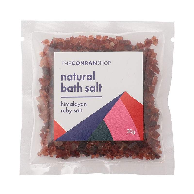 NATURAL BATH SALT 30G RUBY