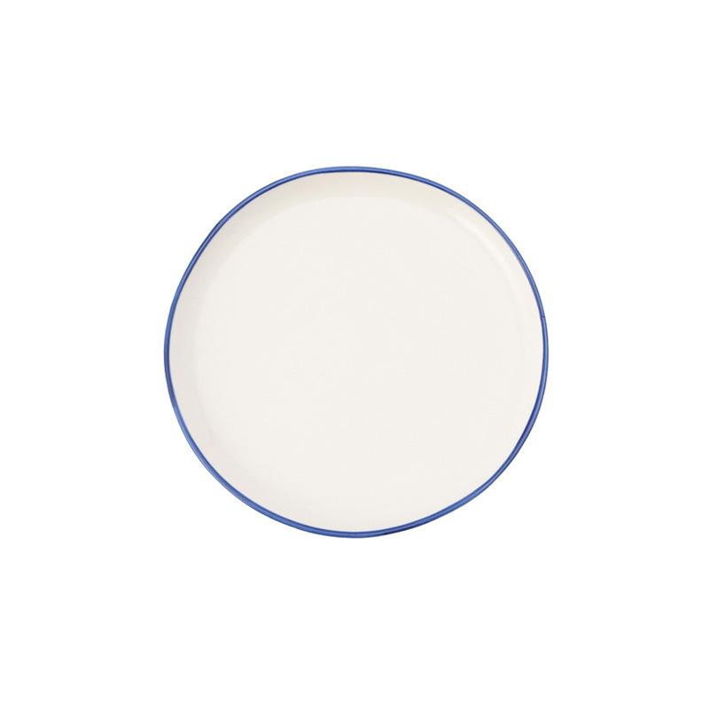 ABBESSES PLATE BLUE 12CM