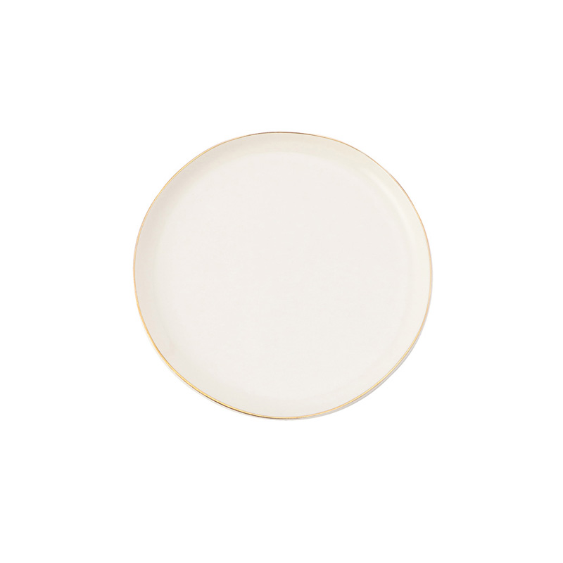 ABBESSES PLATE GOLD 12CM