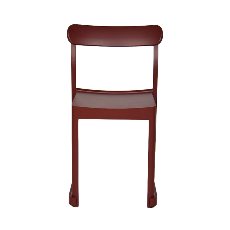 ATELIER CHAIR BEECH DARK RED LACQUER