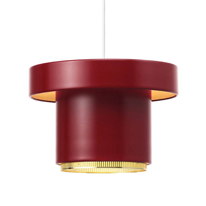 A201 PENDANT DARK RED
