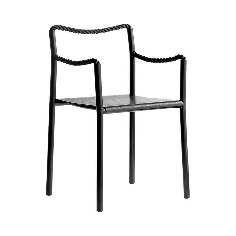 ROPE CHAIR BLACK (ARTEK)