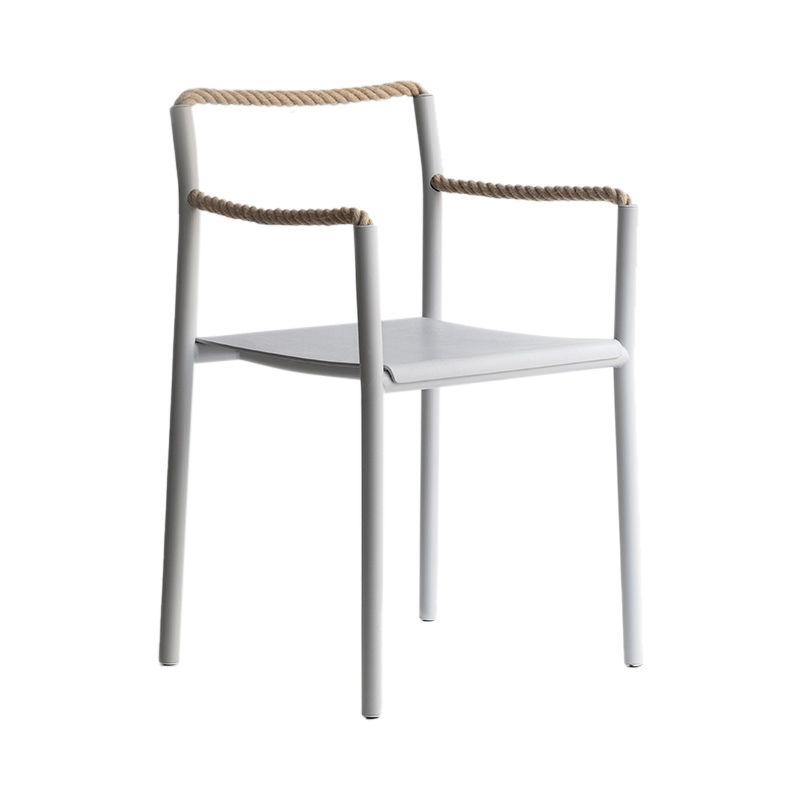 ROPE CHAIR LIGHT GREY (ARTEK)