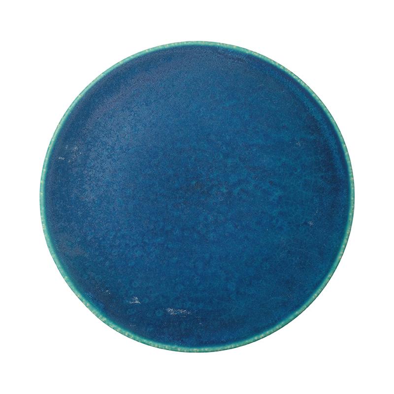 BLUE VELVET 21CM FLAT PLATE