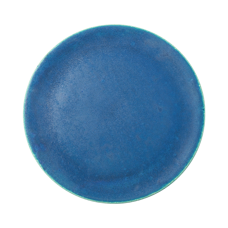 BLUE VELVET 27.5CM FLAT PLATE