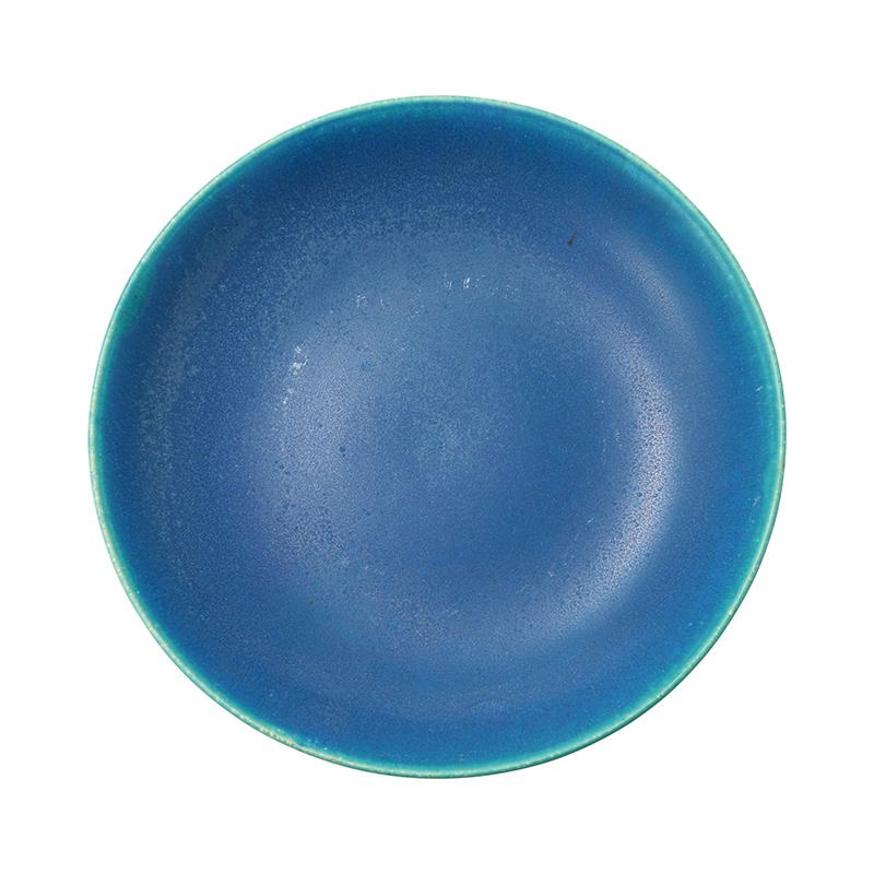 BLUE VELVET DEEP PLATE