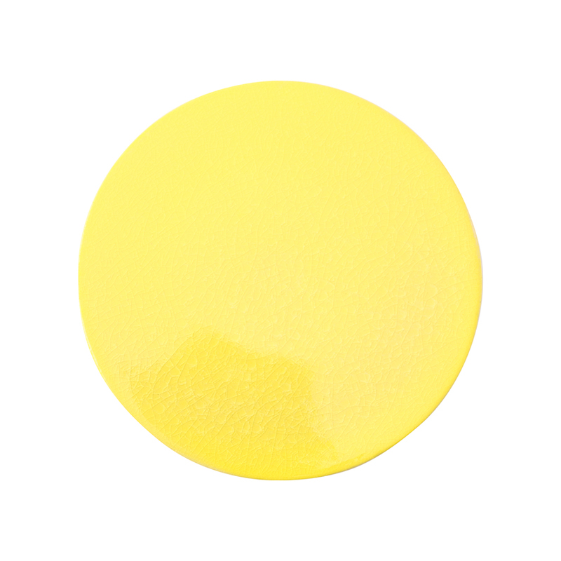 CRAZE PLATE 21CM YELLOW