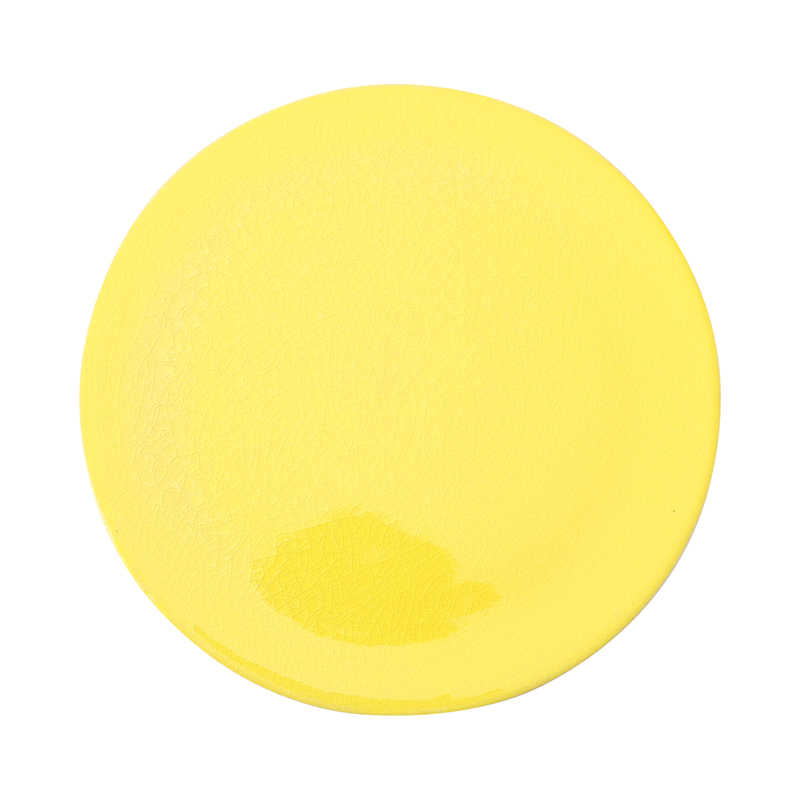 CRAZE PLATE 27.5CM YELLOW