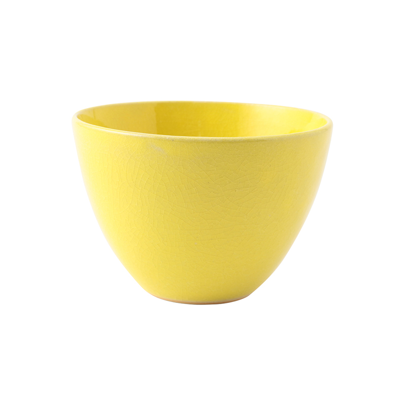 CRAZE BOWL 13CM YELLOW