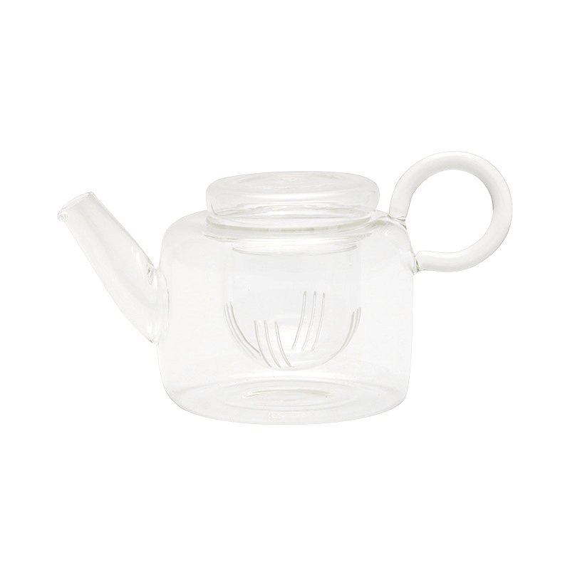 PIUMA SHORT TEAPOT WITH FILTER