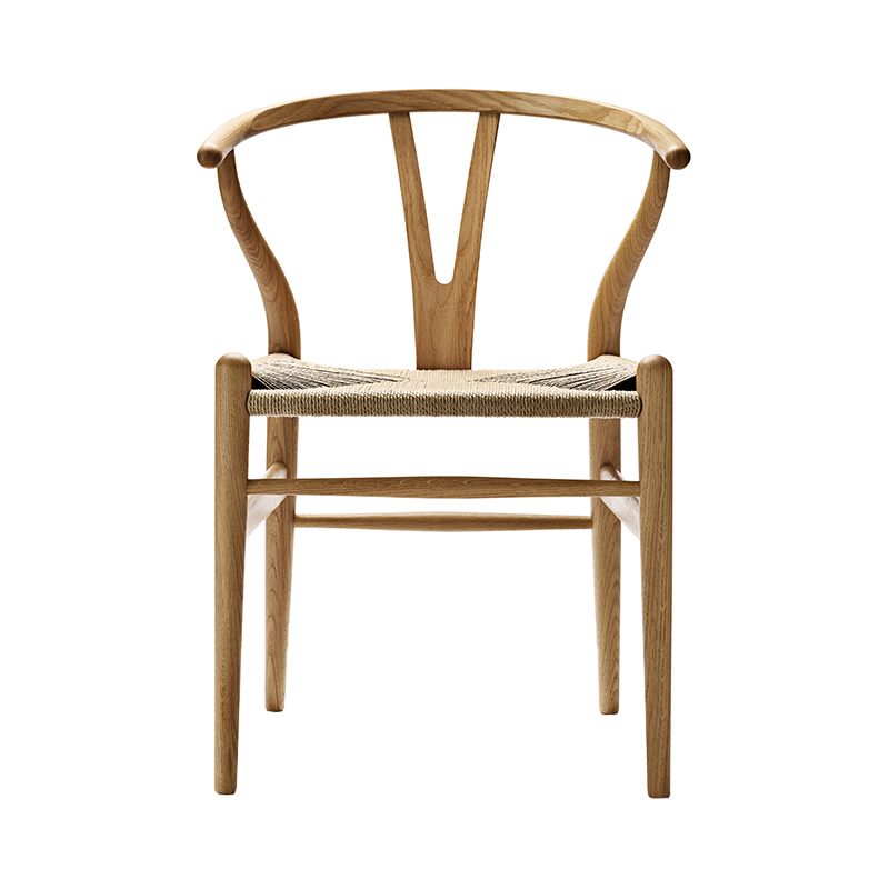CH24 Y CHAIR OAK OIL NATURAL SEAT