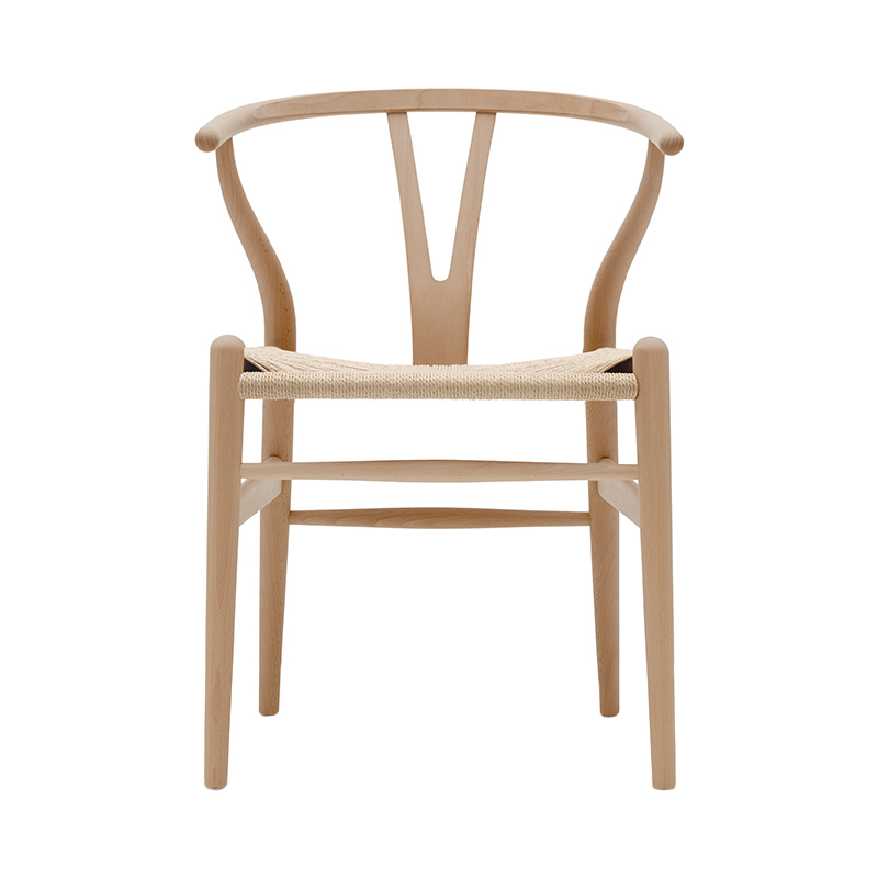 CH24 Y CHAIR BEECH OIL NATURAL SEAT