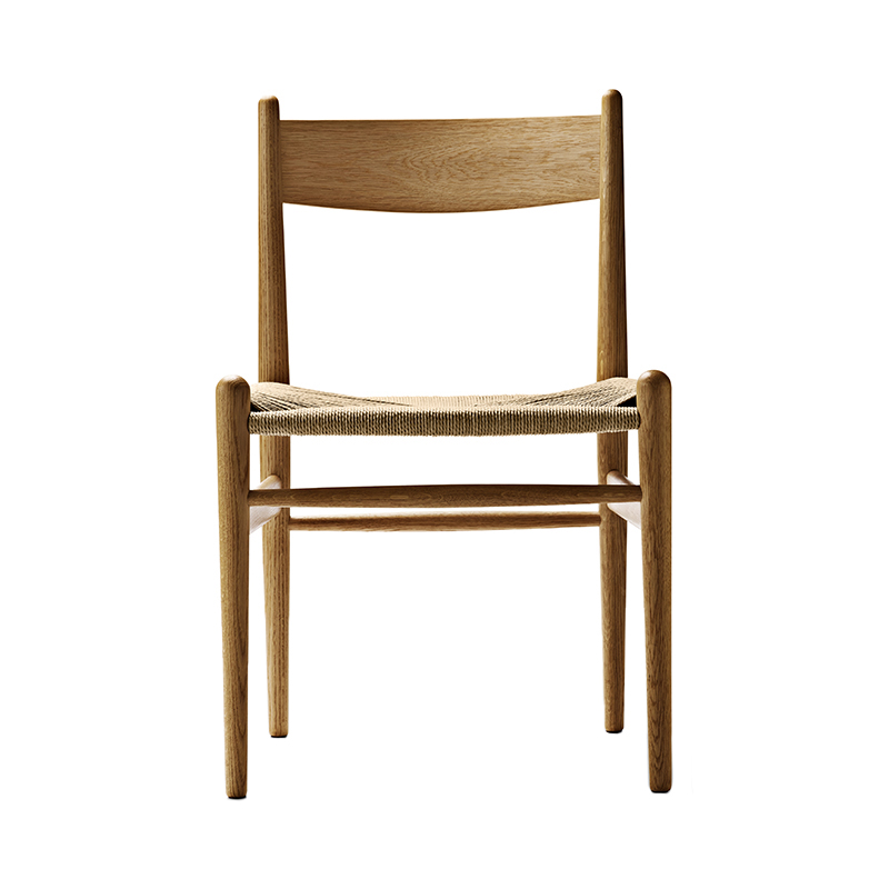 CH36 CHAIR OAK OIL NATURAL SEAT