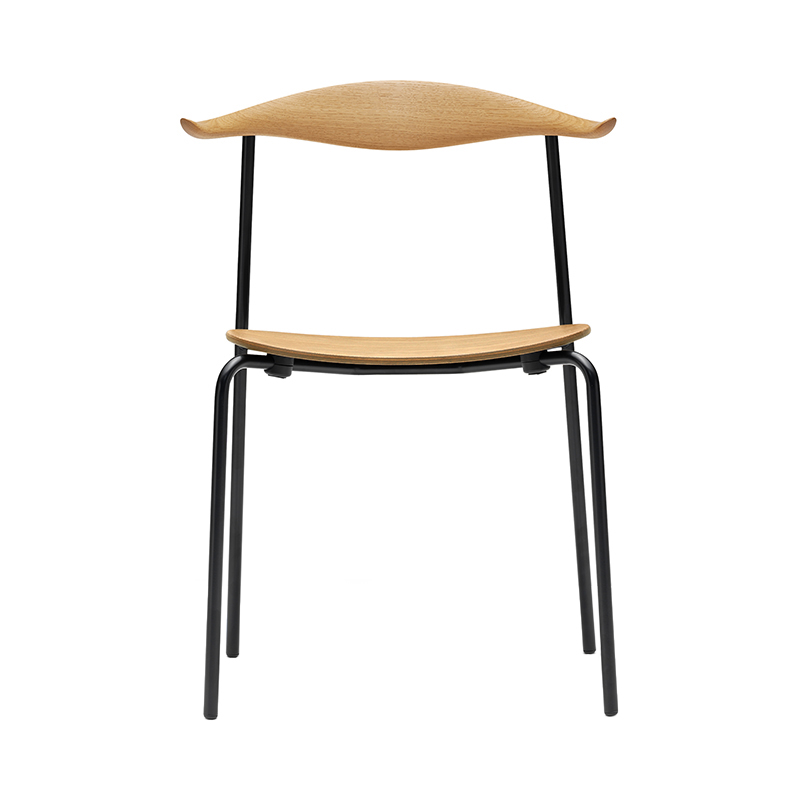 CH88T CHAIR OAK OIL / BLACK LEG