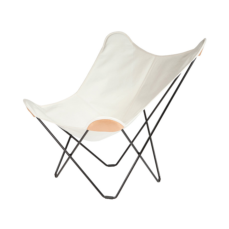 BKF CHAIR CANVAS WHITE