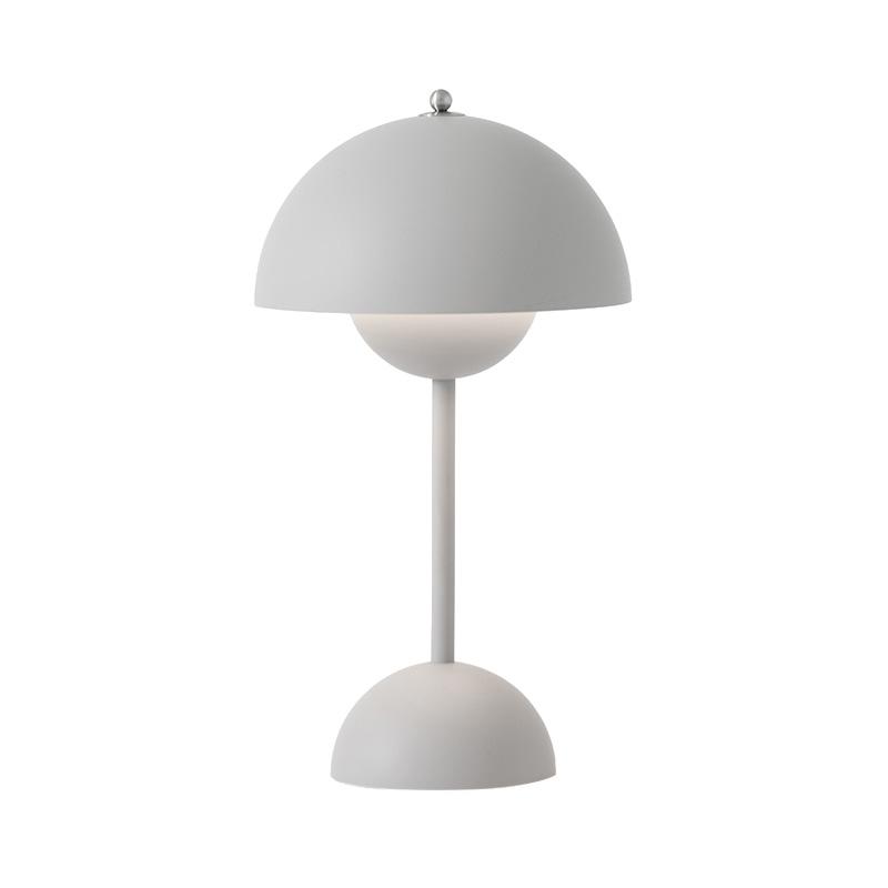 FLOWERPOT POTABLE TABLE LIGHT VP9 MAT LIGHT GREY