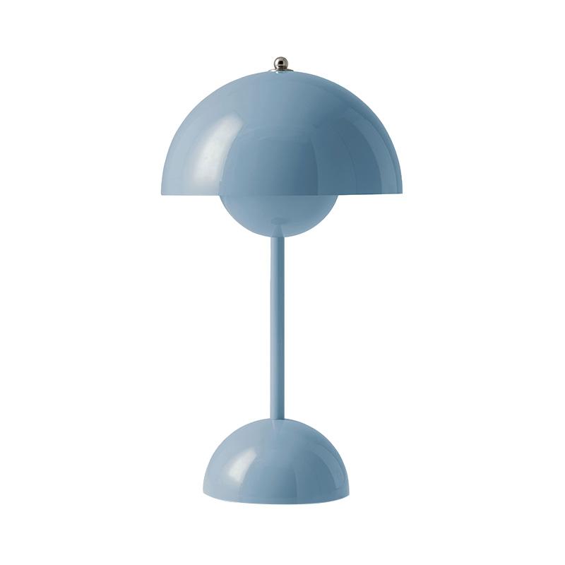 FLOWERPOT POTABLE TABLE LIGHT VP9 LIGHT BLUE