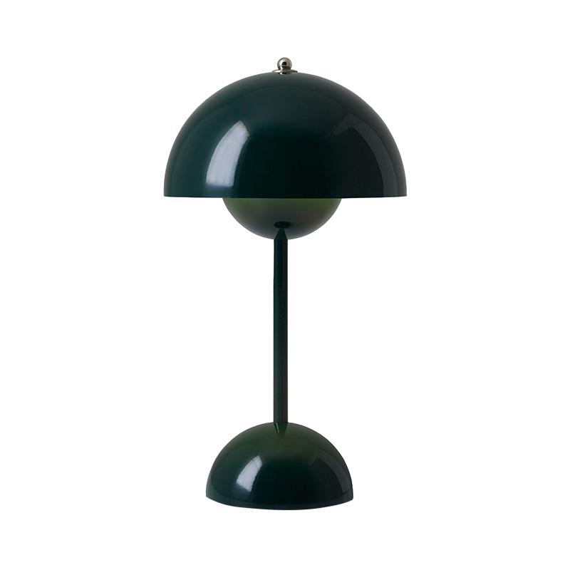 FLOWERPOT POTABLE TABLE LIGHT VP9 DARK GREEN