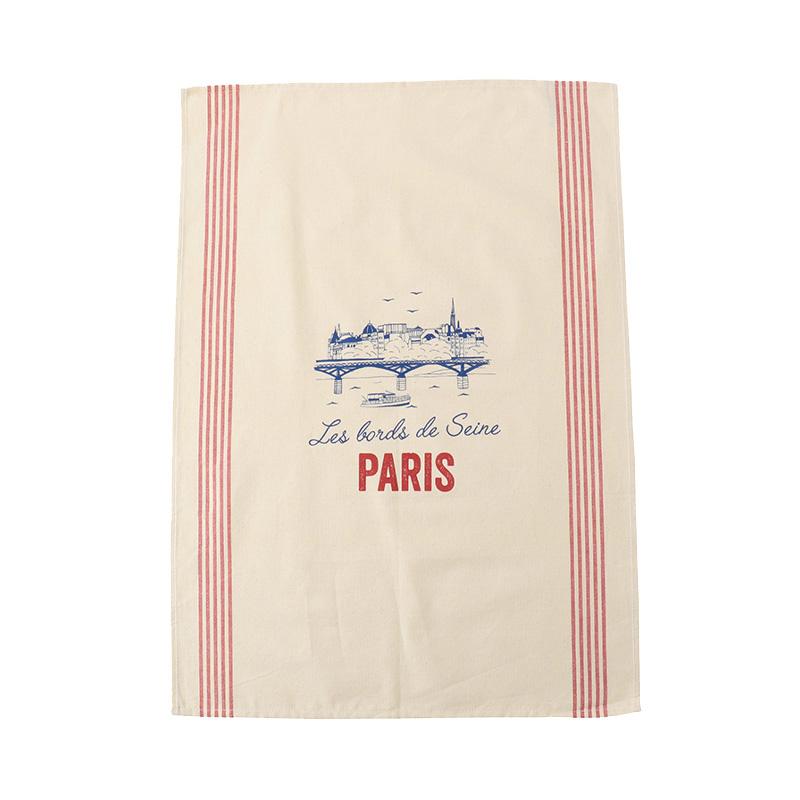 TISSAGE DE L'OUEST TEA TOWEL PARIS SEINE