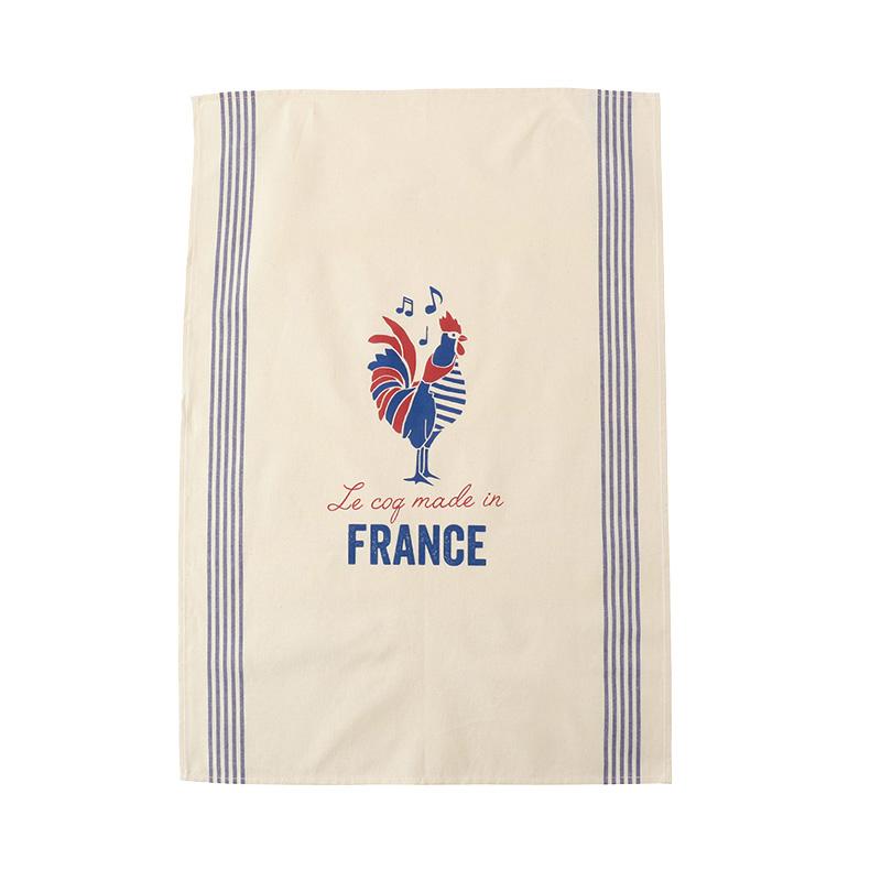 TISSAGE DE L'OUEST TEA TOWEL COCK